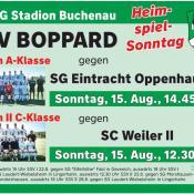 14.08.2021 - Endlich wieder Heimspielsonntag im BOMAG-Stadion